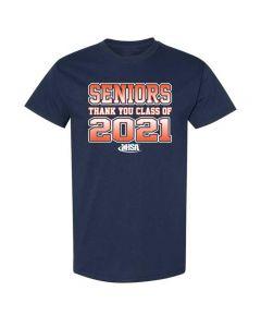 IHSA Supports Athletes Senior 2021 Short Sleeve Tee