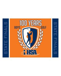 2016 100th Year Anniversary Golf Flag