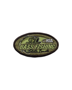 IHSA Bass Fishing State Finals Patch (Oval)