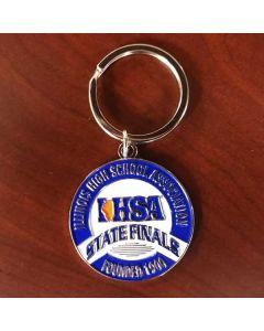 IHSA State Finals Medallion Keychain