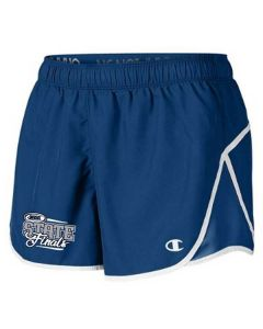 IHSA State Finals Ladies Shorts (Royal/White)