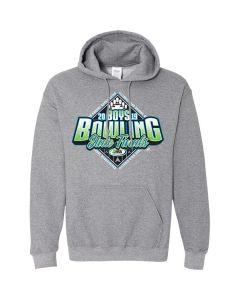 2019 IHSA Boys Bowling Hooded Sweatshirt