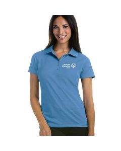 SOILL Ladies' Short Sleeve Polo (Columbia Blue)