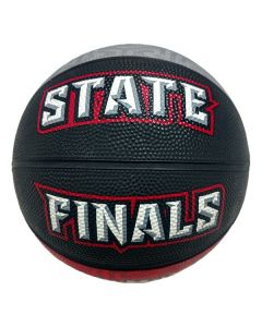 IHSA March Madness Mini Basketball (Red/Black/Grey)