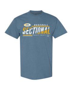 2021 IHSA Baseball Sectional Short Sleeve Tee