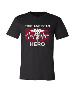 Our Healthcare Heroes Short Sleeve Ringspun Tee-D-3