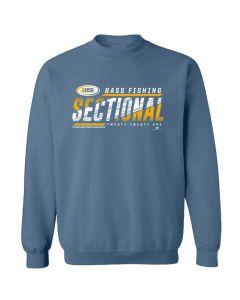 2021 IHSA Bass Fishing Sectional Crewneck Sweatshirt