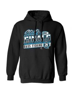2021 IHSA Bass Fishing State Finals Hooded Sweatshirt