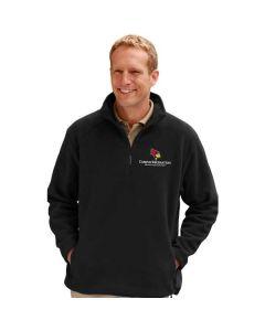 ISU Student Recreations Men's Micro Fleece Pullover Jacket
