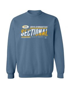 2021 IHSA Boys Gymnastics Sectional Crewneck Sweatshirt