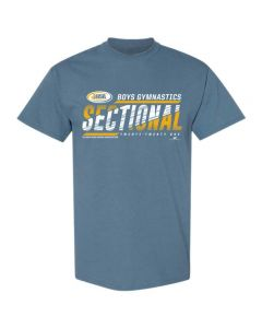 2021 IHSA Boys Gymnastics Sectional Short Sleeve Tee