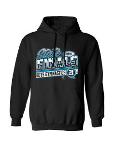 2021 IHSA Boys Gymnastics State Finals Hooded Sweatshirt