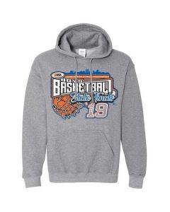 2019 IHSA Boys Basketball Hooded Sweatshirt
