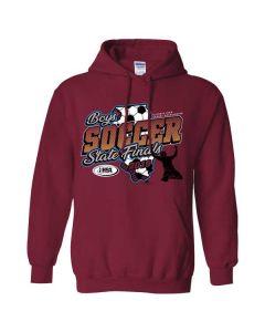 2019 IHSA Boys Soccer Hooded Sweatshirt