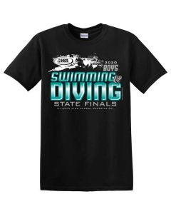 2020 IHSA Boys Swimming and Diving Short Sleeve T-Shirt