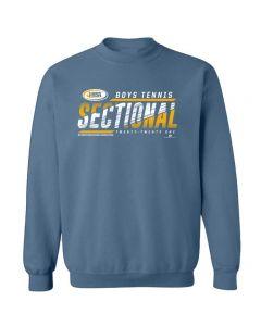 2021 IHSA Boys Tennis Sectional Crewneck Sweatshirt