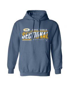 2021 IHSA Boys Tennis Sectional Hooded Sweatshirt