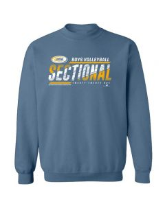 2021 IHSA Boys Volleyball Sectional Crewneck Sweatshirt