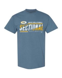 2021 IHSA Boys Volleyball Sectional Short Sleeve Tee