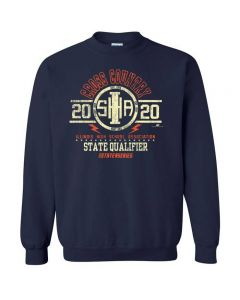 2020 IHSA Cross Country State Qualifier Crewneck Sweatshirt