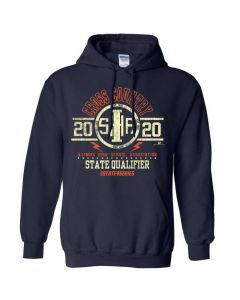 2020 IHSA XC State Qualifier Hooded Sweatshirt