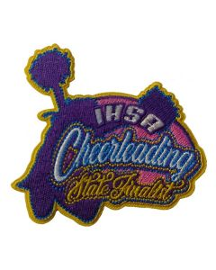 State Finalist Cheer Patch 02
