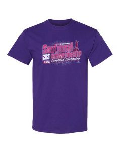 IHSA State Series Competitive Cheerleading Sectional Championship Short Sleeve Tee