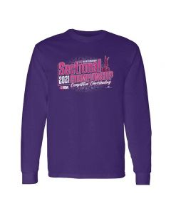 IHSA State Series Competitive Cheerleading  Sectional Championship Long Sleeve Tee