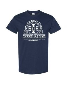 IHSA Competitive Cheerleading State Qualifier Short Sleeve Tee