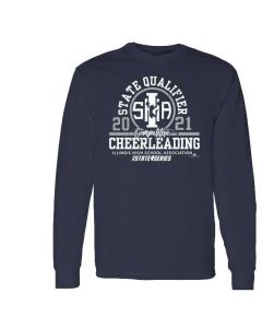 IHSA Competitive Cheerleading State Qualifier Long Sleeve Tee