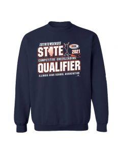 IHSA Competitive Cheerleading State Qualifier Crewneck Sweatshirt
