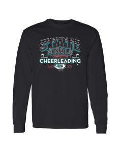 IHSA Competitive Cheerleading State Finals Long Sleeve Tee