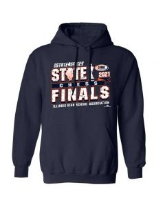 IHSA State Series Chess State Finals Hooded Sweatshirt