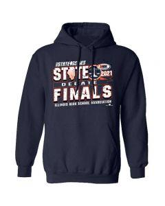 IHSA State Series Debate State Finals Hooded Sweatshirt