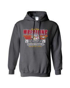 2020 IHSA Boys Dual Wrestling Hooded Sweatshirt