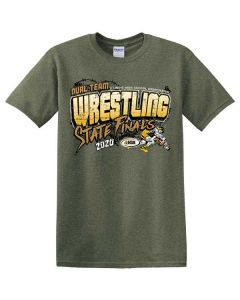 2020 IHSA Boys Dual Wrestling Short Sleeve T-Shirt