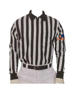 IHSA Football Officials Long Sleeve Warp-Knit Polyester Jersey