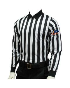 IHSA Football Officials Long Sleeve Interlock Fabric
