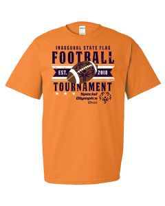 2018 SOILL State Flag Football Tournament Short Sleeve T-Shirt