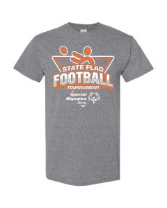 2019 SOILL State Flag Football Tournament Short Sleeve T-Shirt