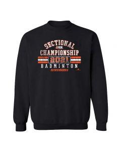 IHSA State Series Girls Badminton Sectional Championship Crewneck Sweatshirt