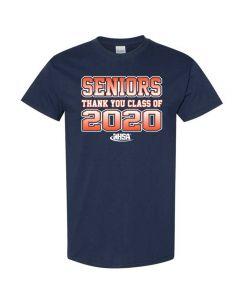 IHSA Supports Seniors Short Sleeve Tee