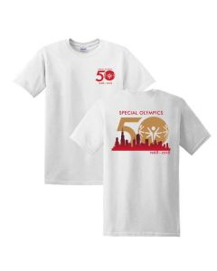 Special Olympics 50th Anniversary Cotton Tee
