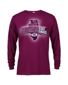 2020 IHSA Girls Gymnastics Long Sleeve T-Shirt