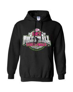 2019 IHSA Girls Volleyball Hooded Sweatshirt