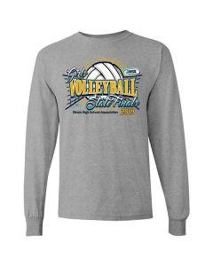 2019 IHSA Girls Volleyball Long Sleeve T-Shirt