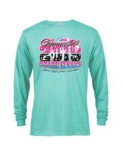2019 IHSA Girls Gymnastics Long Sleeve T-Shirt