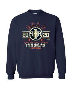 2020 IHSA Golf State Qualifier Crewneck Sweatshirt