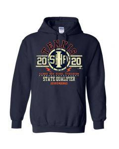 2020 IHSA Tennis State Qualifier Hooded Sweatshirt