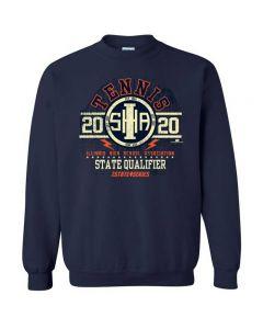 2020 IHSA Tennis State Qualifier Crewneck Sweatshirt